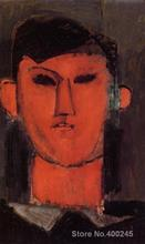 Amedeo Modigliani art collection Portrait of Picasso oil Painting canvas High quality Hand painted