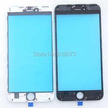 A+ Front Outer Glass Lens Bezel Assembly replacements for iPhone 6S Plus Touch Screen Glass Housing Refurbishment parts