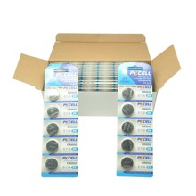 100Pcs/20card PKCELL 3V Battery CR2032 Lithium Button Battery BR2032 DL2032 CR 2032  Button Coin Cell Watch Batteries