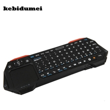 kebidumei Backlight 3 in1 Wireless Mini Bluetooth Keyboard Mouse Touchpad For iOS Windows Android HDTV TV Box Media Player(China)
