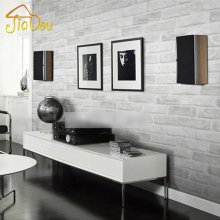 Deep Embossed 3D Brick Wall Paper Modern Vintage Brick Stone Pattern Paper Wallpaper Roll For living room Wall covering Decor(China)