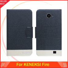 5 Colors Factory Direct!! KENEKSI Fire Case Luxury Leather Anti-slid 100% Special Phone Fashion Cover Free Shipping