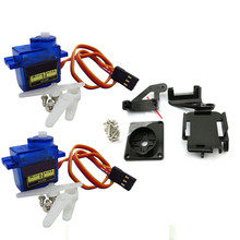 2pcs 9G SG90 servo motor +1pcs FPV dedicated nylon PTZ for arduino kit