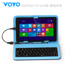 "Brand 8"" VOYO Cover USB Keyboard & Leather Case special for voyo winpad a1 keyboard mini version voyo winpad a1 Tablet PC(China)"