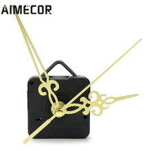 Aimecor Simple Gold Hands DIY Quartz Wall Clock Movement Replacement parts quality first DROP SHIP