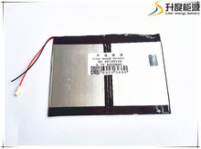 3.7v 6000mAH (polymer lithium ion battery) Li-ion battery for tablet pc 9.7 inch 10.1 inch speaker 35100140