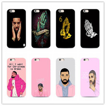 Canada drake phone case for iPhone 7 plus 4 4s 5 5s 5c se 6 6s iPhone7 for Samsung S5 S4 S6 S7 S7edge 6 s 5 s 5 c design cover