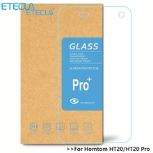 3PCS Homtom Ht20 Tempered Glass Homtom Ht20 Glass Homtom Ht20 Pro Screen Protector Film Case 9H 2.5DHD 0.33MM Clear Glass