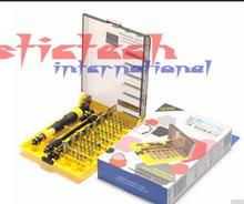 by dhl 50set Precision 45 In 1 JK6089 Electron Torx MIni Magnetic Screwdriver Tool Set Opening Repair Tools hand tools Kits