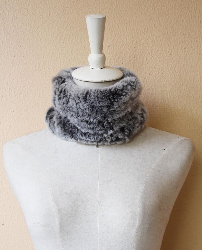 fur scarf rabbit rex for women (6)