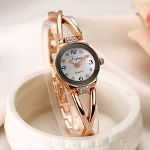 Lvpai Brand Cheap Fashion Luxury Stainless Steel Gold And Silver Band Women Girl Wristwatch Casual Quartz New Fashion Watches