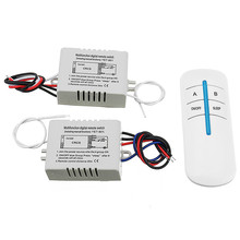1 Way Wireless Remote Control Switch Digital Remote Control Switch for Lamp & Light(China)
