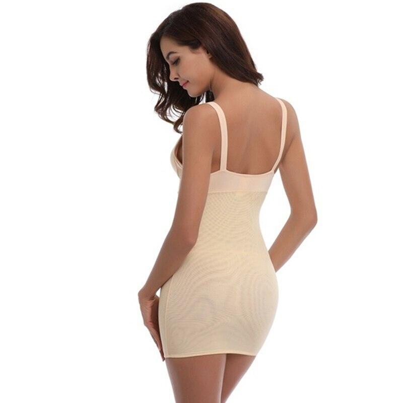 e87cd45d6 2019 Sexy Full Body Shaping Underwear Bodysuit Dress Women Body ...