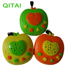 QITAI Russian Language Apple Stories Teller Specially for kids Educational learning toys with Stories Music Poem Knowledge Light