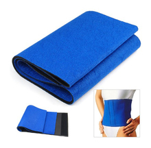 New Fat Slimming Exercise Waist Sweat Belt Body Wrap Sauna Neoprene Elastic Weight Reducing Waistband 100cm x 20cm