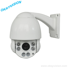 1080p full hd p2p LED ARRAY IP Cameras and outdoor & indoor Pan/Tilt Zoom PTZ 10X optical Zoom ip ptz camera