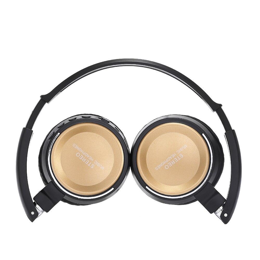BT823 Wireless Earphone 3 in 1 Multifunctional Stereo Headphone Bluetooth Headset with Mic MP3 TF Card FM Radio