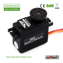 20pcs/lot 360 degree continuous rotation DM-S0306MD DOMAN RC 56g/0.14s/3.5kg.cm metal gear robot used 3kg digital servo