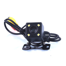 110 Degree Waterproof 4 LED Night Vision auto Car CCD Rear View Camera Parking Assistance system For Monitor
