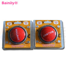 [Bainily] New Bullshit Loudspeaker Button Music Box Action Figure Toys Funny Gift Toy(China)