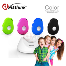 Smallest gps sms gprs child tracking device gps tracker kid people with app tracking system(China)