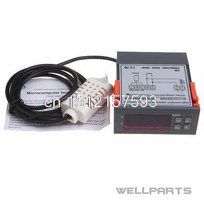 10A 12V Digital Air Humidity Control Controller WH8040 Range 1%~99% RH MH13001<br>