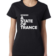 Armin Van Buuren Together In A State of Trance Letter Print T Shirt Popular Music DJ T-shirt Men/Women Tops Funny Tee Shirt(China)