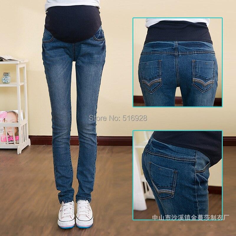 Как самим сделать джинсы для беременных 16