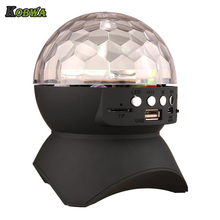 Kobwa Party DJ Bluetooth Speaker With Built-In Light Show,Stage & Studio Effects Lighting, RGB Color Changing, LED Crystal Ball