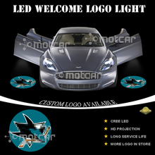 Car Door Courtesy Welcome Light Projector Laser SJ Sharks GOBO Logo Light Ghost Shadow Puddle Emblem LED Spotlight Drop Shipping
