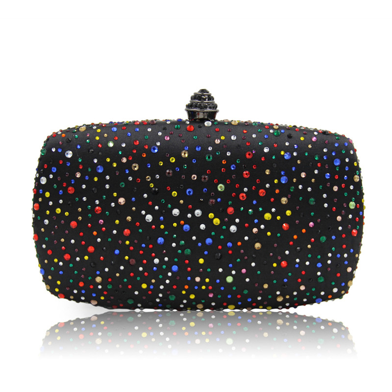 Luxury Handbags Women Bags Beaded Evening Clutch Woman Bag 2017 Designer Handbags Day Clutches High Quality<br>