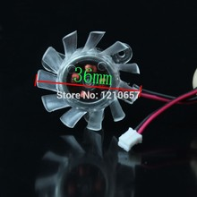 5 Pieces lot 12V 2 Pin 36mm Heatsink Cooler Cooling Fan For VGA Video Graphics Card(China)