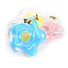 New 2016 swimming baby accessories swim neck ring baby Tube Ring Safety infant neck float circle for bathing Inflatable Newest(China)