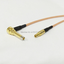 3G Antenna Cable MS156 Right Angle to CRC9 Male Plug RG316 Cable Pigtail 15CM 6inch Adapter RF Jumper Fast Ship(China)