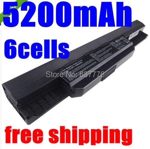 5200MAH laptop battery A32-K53 for Asus A43E A53S K43E K43U K43S X54 X54H K43SJ X54C X84 K53S K53 K53SV K53T K53E K53SD X44H<br><br>Aliexpress