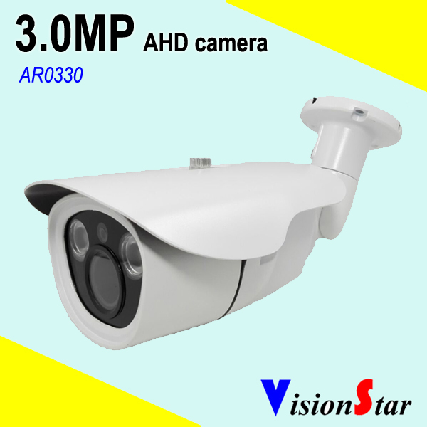 2pcs Array Leds 3MP AHD Camera 2.8-12mm Varifocal Lens Bullet Waterproof for Outdoor and Indoor Using<br>