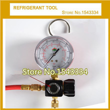 refrigerant tool HS-470AH R410a one-way manifold pressure gauge set(China)
