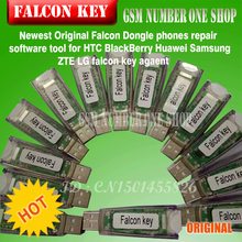Newest Original Falcon Dongle phones repair software tool for HTC BlackBerry Huawei Samsung ZTE LG falcon key agaent(China)