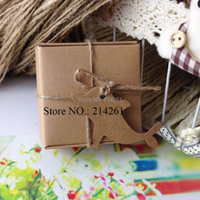 2016 New Kraft Cute Dolphin Hang Tag For gift box Handmade ART 1lot=500 Tags Garment Tag
