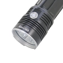 EBUYFIRE King 3t6 LED Flashlight  By 4 x 18650 Torch 30w 3 x XM-L T6 6000 LM  Waterproof led Light lamp for Hunting Camping