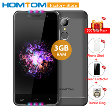 HOMTOM HT37 PRO 4G Smartphone 5.0inch MTK6737 Quad-core Android 7.0 3GB RAM 32GB ROM Dual Camera 3000mAh Battery Mobile Phone