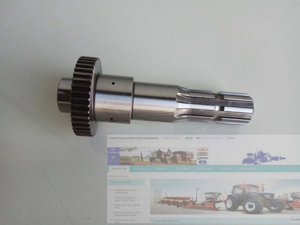 TA700.411-13, the PTO shaft for Foton Lovol 70-90 series tractor <br>