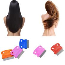 New Designed Terminator Lice Comb Hair Rid Headlice Stainless Steel Metal Teet 100% Brand New 2017 Anne(China)