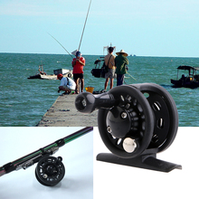 Fishing ice Reel 55g Fly Fish Reel Former 1BB Ball Bearing Fish Reel Rafting Ice Fishing Wheel