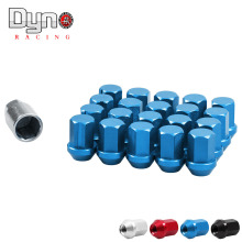 Racing 35MM WHEELS LOCK Auto LUG NUTS 12X1.5 FIT FOR HONDA CIVIC ACORN RIM FORGED DURA 20(China)