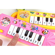 1Pc Kids Musical Developmental Baby Piano Toy Children Sound Educational Toy Musical Toy Baby Children Kid's Toy Color Random