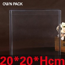 10 pcs/lot 20*20*Hcm packaging boxes / plastic container / retail / chocolate box / candy box / gift package / PVC boxes
