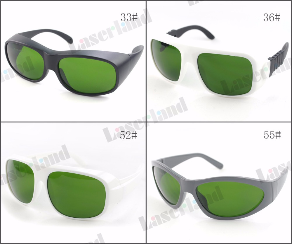 Laserland LP-IPL 200nm-1400nm O.D1.5+ IPL Beauty Machine Laser Protective Protection Goggles Safety Glasses CE certificated<br>