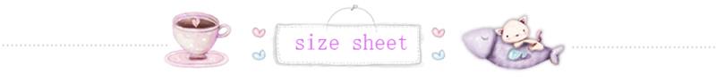 size sheet