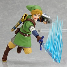 Hot ! NEW 14cm Legend of Zelda Link mobile collection action figure toy Christmas gift doll with Original box(China)